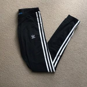 Women's Adidas 3-stripe leggings